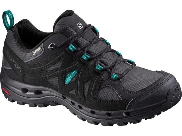 d45ef543cca Salomon Ellipse 2 GTX Surround - Chaussures Femme - gris noir sur ...
